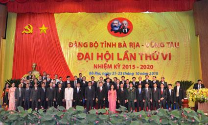 BCH ra mắt Đại hội.
