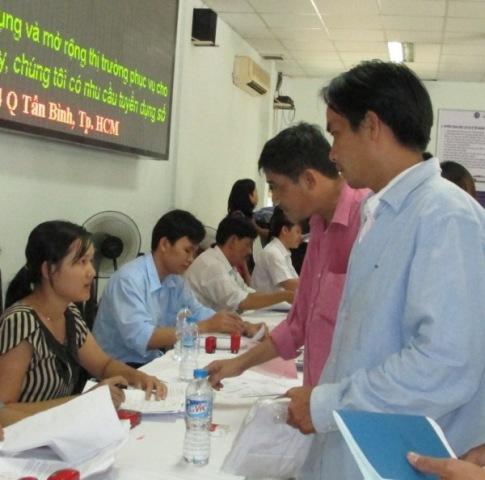 Người lao động đăng ký BHTN
