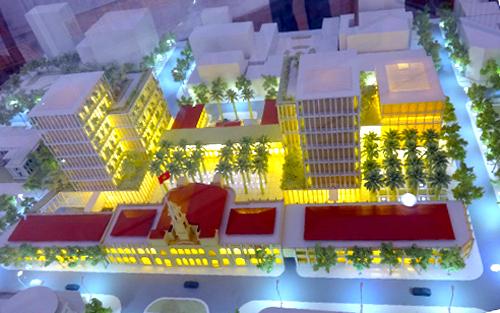 Phương án thiết kế Trung tâm hành chính TP HCM vừa được chọn.