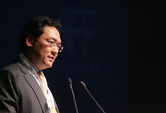 Cựu chủ tịch Tập đoàn Tài nguyên Trung Quốc Tống Lâm. Ảnh: BLOOMBERG
