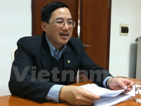 Ông Đặng Quyết Tiến, Phó Cục trưởng Cục Tài chính doanh nghiệp, Bộ Tài chính cho rằng, kết quả cổ phần hóa trong năm 2014 là tích cực nhưng cả giai đoạn thì vẫn chưa đảm bảo. (Ảnh: PV/Vietnam+)