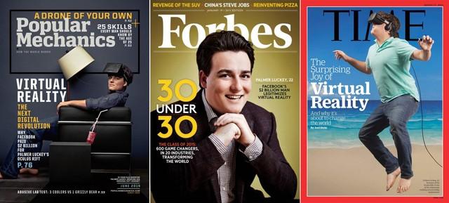 Chàng thanh niên tài năng này từng là gương mặt trang bìa của nhiều tạp chí danh tiếng.