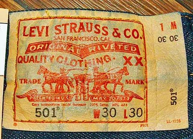 Con số 501 trên nhãn hiệu quần bò Levi's có ý nghĩa gì?