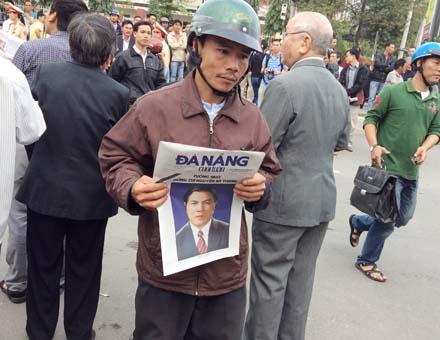 Người dân Đà Nẵng bày tỏ tấm lòng trân trọng với ông Nguyễn Bá Thanh