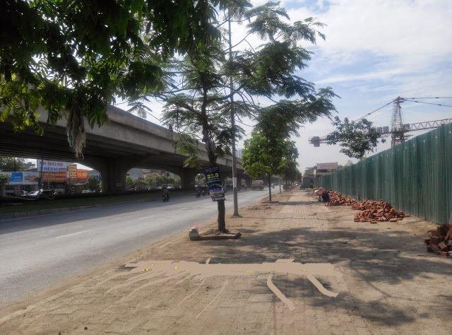 Dự án tọa lạc ngay tại mặt đường Nguyễn Xiền