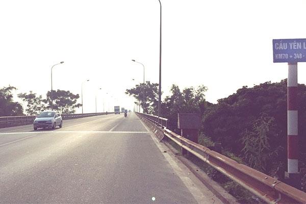 Cầu Yên Lệnh là một trong những dự án giao thông được đầu tư theo hình thức BOTđầu tiên - Ảnh: Hà My