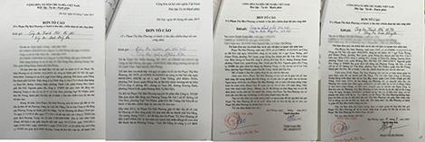 Đơn tố cáo hành vi lừa đảo dự án của Phạm Thị Mai Phương.