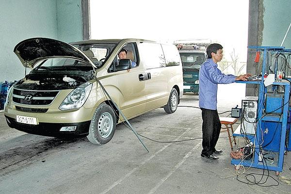 Mở cửa thị trường nhằm xóa bỏ độc quyền cung cấp thiết bị kiểm định cho các trạm đăng kiểm
