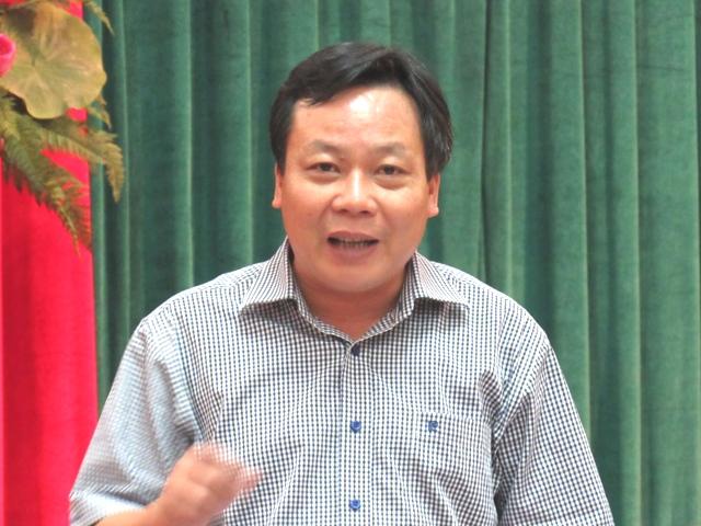 Phó ban Tuyên giáo Thành ủy Hà Nội Nguyễn Văn Phong