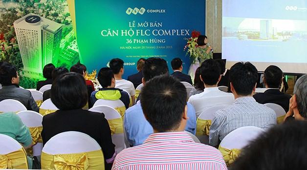 Dự án FLC Complex Phạm Hùng chuẩn bị để mở bán đợt 2 trong tháng 12 này.