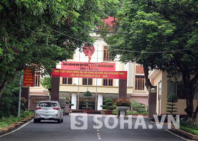 Khu hành chính hiện tại của UBND tỉnh Sơn La nằm trên đồi Khau Cả, TP Sơn La