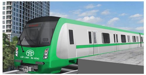 Phương án thiết kế mô hình tàu mẫu, dự án ĐSĐT Hà Nội, tuyến Cát Linh – Hà Đông