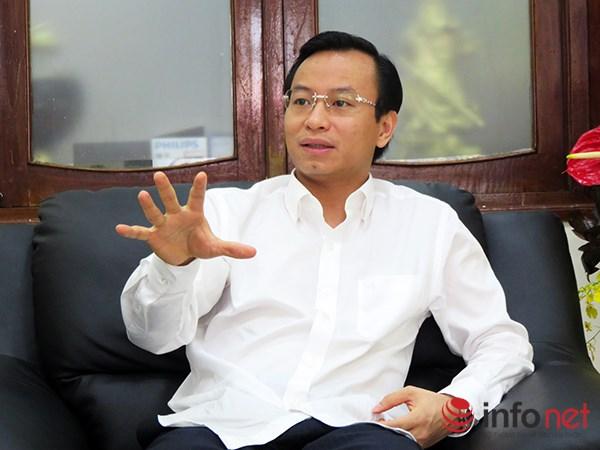Tân Bí thư Thành ủy Đà Nẵng Nguyễn Xuân Anh dành cho báo Infonet cuộc trả lời phỏng vấn độc quyền (Ảnh: HC)