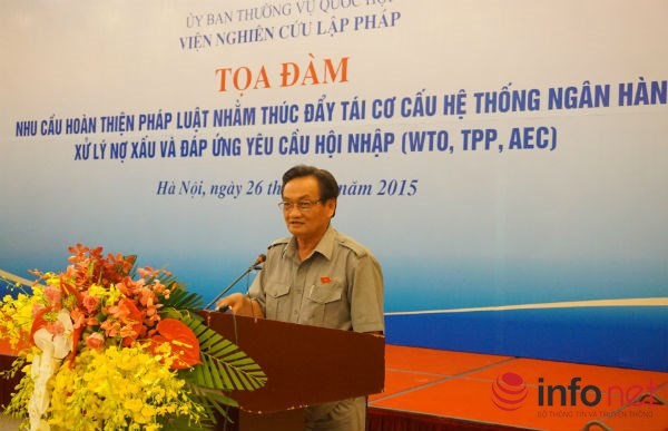 Đại biểu Quốc hội, TS. Trần Du Lịch