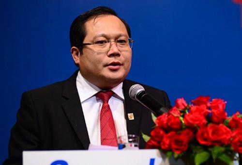 Ông Phan Huy Khang, Tổng giám đốc Sacombank