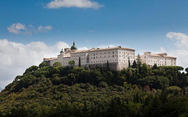 Tu viện Monte Cassino - Ảnh: Alamy