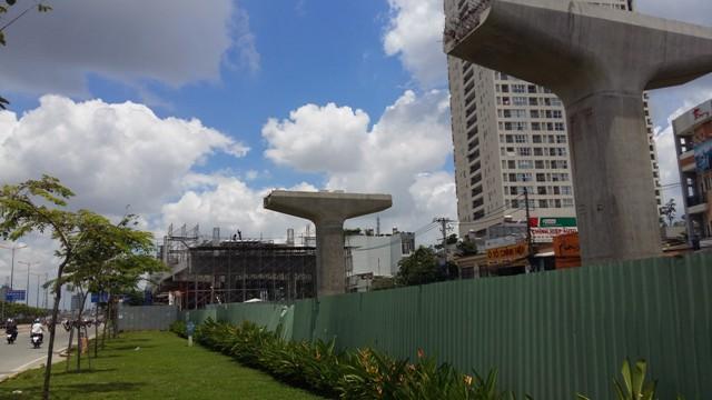 Khu vực Thào Điền hiện nay là nơi có nhiều dự án BĐS lớn được xây dựng dọc theo tuyến đường sắt nhất.