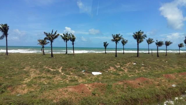 Diện tích đất rất lớn đang chuẩn bị đầu tư xây dựng khu nghỉ dưỡng, biệt thư ven biển của công ty CP Phú Quốc Pearl.