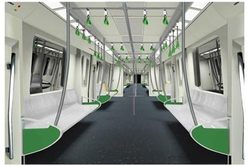 Phương án thiết kế nội thất đoàn tàu khai thác và tàu mẫu, dự án ĐSĐT Hà Nội, tuyến Cát Linh – Hà Đông