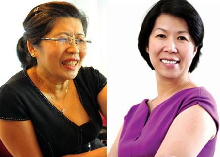 Hai chị em gái ông Hạnh Nguyễn là bà Nguyễn Thị Ánh Hoa và Nguyễn Ánh Hồng.