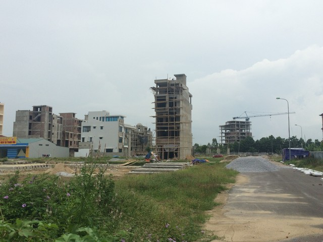 Dự án khu Đông Hương, TP. Thanh Hóa đang ngổn ngang