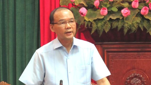 Phó trưởng Ban Tổ chức Thành ủy Hà Nội Phan Chu Đức