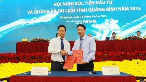 Ngân hàng BIDV đã ký cam kết tài trợ vốn cho dự án Cảng Hòn La do Tập đoàn FLC làm chủ đầu tư