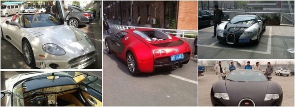 Vương Thước sở hữu một tập đoàn xe siêu sang.