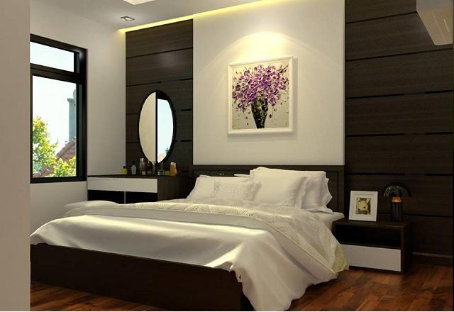 Phòng ngủ chung cư Pacific Palace