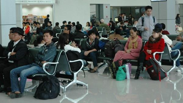 Cảng hàng không sân bay Nội Bài - nơi dự kiến chuyển nhượng một phần cho doanh nghiệp khai thác . Ảnh: Ngọc Châu.