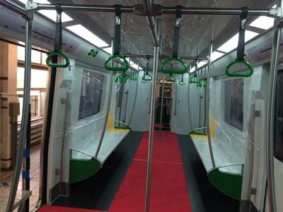Hình ảnh đầu tiên về tàu điện đô thị của Hà Nội - ảnh 5