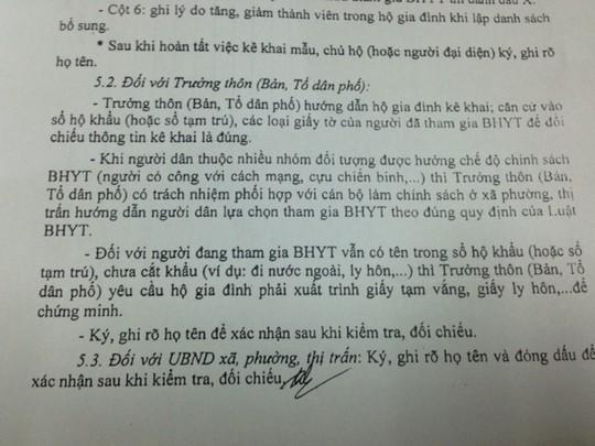 Nội dung hướng dẫn tại công văn số 777 của BHXH Việt Nam