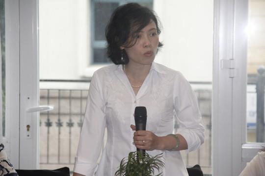 Bà Nguyễn Thị Hạnh cho rằng cần thiết có toà chuyên trách về SHTT