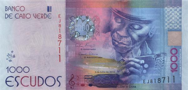 Tờ1000 Escudos của Cape Verde