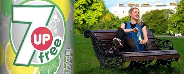 Britvic, nhà phân phối 7Up ở Anh và Ireland, cho rằng loại nước giải khát này được đặt tên như vậy là vì có 7 thành phần chính. 7Up được tạo ra vào năm 1929 sau khi CL Grigg giành chiến thắng trong cuộc thi pha chế nước chanh ở Mỹ. Tuy vậy, tên gọi ban đầu mà Grigg đặt cho loại nước này là Bib-label Lithiated Lemon Lime Soda có phần hơi khó đọc.