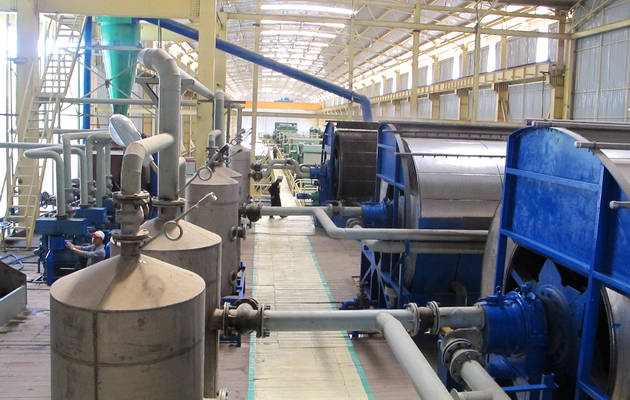 Nhà máy mía đường của HAGL tại Lào