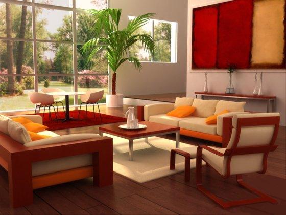 Một phòng khách vuông vắn là lựa chọn lý tưởng của gia chủ
