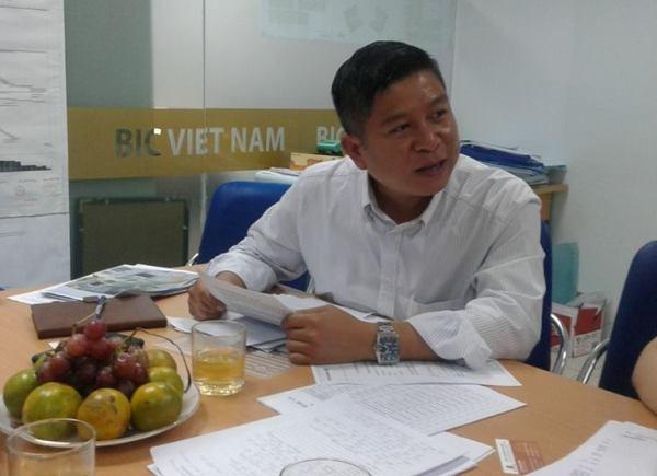 Ông Lục Minh Hoàn, Phó TGĐ Bic Việt Nam