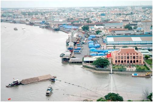 Cảng Nhà Rồng - Khánh Hội. Nguồn: Internet