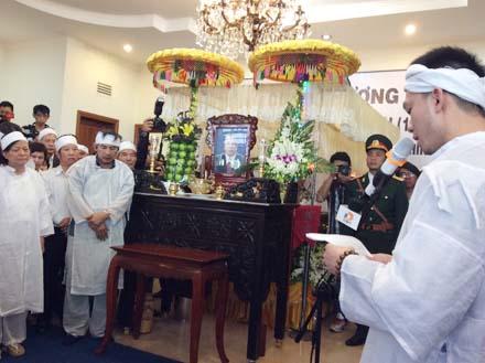 Con trai ông Nguyễn Bá Thanh nói lời cảm ơn