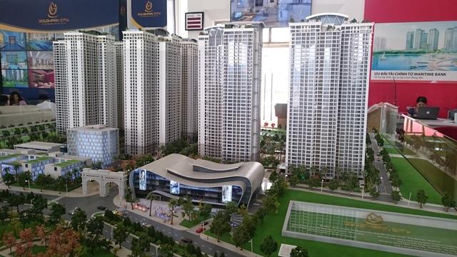 Phối cảnh tổng thể Dự án Goldmark City