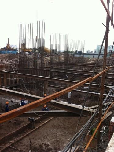 Dự án được khởi công từ tháng 4/2015.