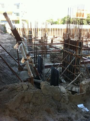 Dự án được khởi công vào tháng 9/2014 và dự kiến bàn giao vào quý 4/2016