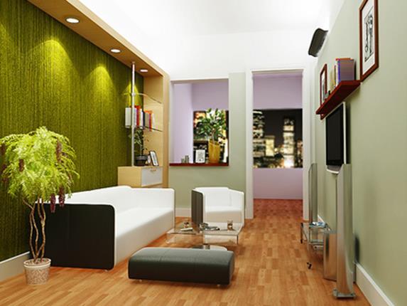 Với bộ ghế sofa màu trắng mang kiểu dáng hiện đại sẽ khiến cho không gian phòng khách gia đình bạn bừng sáng.