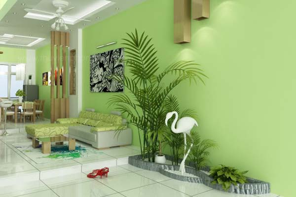 """Cây xanh góp phần mang lại năng lượng """"tươi"""" cho căn nhà bạn."""