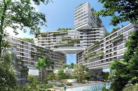 Công trình này được bắt đầu xây dựng vào năm 2007 và hoàn thành năm 2013 tại Singapore.