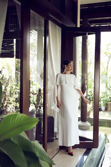 Hà Kiều Anh từng chia sẻ cô rất yêu thiên nhiên, chính vì vậy căn nhà có nhiều không gian khoáng đạt và những khoảng xanh lớn.