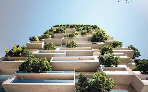 Đây sẽ là nơi cư trú của hơn 100 loại cây xanh, 6.000 cây bụi và hơn 18.000 cây thực vật nhỏ khác.