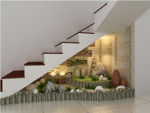 Gầm cầu thang nhà bạn có thể nhỏ, hẹp, dốc hoặc cũng có thể rộng và có độ dốc vừa phải. Căn cứ vào thực tiễn mà chọn cách trang trí như thế nào cho phù hợp