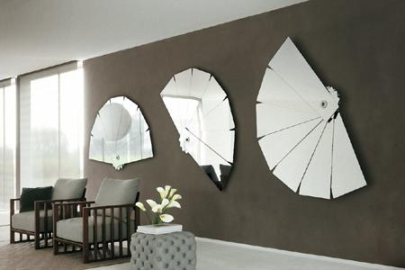 Trang trí nhà bằng những mảng gương sắc nhọn mang điềm xấu cho gia chủ